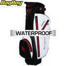 BagBoy C-311 Waterproof Cartbag Golftas, Zwart/Wit/Rood