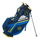 Wilson Staff EXO Cartbag Navy/Geel