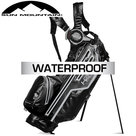Sun Mountain USA H2NO Lite Waterproof 14-Vaks Standbag, zwart/grijs