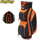 BagBoy SL Cartbag, zwart/oranje
