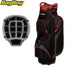 BagBoy DG Lite II TL Cartbag, zwart/grijs/rood