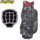BagBoy DG Lite II TL Cartbag, camouflage/rood