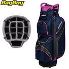 BagBoy DG Lite II TL Cartbag, navy/roze