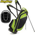 BagBoy SL Standbag, zwart/lime
