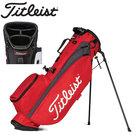 Titleist Players 4 Standbag Golftas, rood