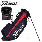 Titleist Players 4 Standbag Golftas, navy/rood