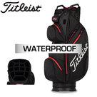 Titleist StaDry Waterproof Cartbag, zwart/rood