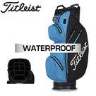 Titleist StaDry Waterproof Cartbag, zwart/blauw