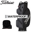 Titleist StaDry Waterproof Cartbag, zwart/grijs