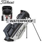 Titleist Players 4 Plus Stadry Standbag Golftas, lichtgrijs/grijs