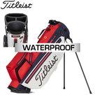 Titleist Players 4 Plus Stadry Standbag Golftas, rood/wit/navy