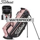 Titleist Players 4 Plus Stadry Standbag Golftas, roze/grijs
