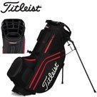 Titleist Hybrid 14 Standbag Golftas, zwart/rood