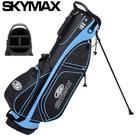 Skymax XL-Lite 7.0 Standbag, zwart/lichtblauw