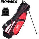 Skymax XL-Lite 7.0 Standbag, zwart/rood