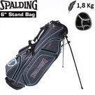 Spalding SP3 Standbag Golftas, grijsgroen/lichtblauw