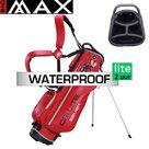 Big Max DriLite Seven 2.0 Waterproof Standbag Golftas, rood