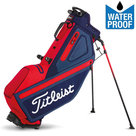 Titleist Players 4 StaDry Standbag Navy/Rood