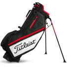 Titleist Players 4 Standbag Zwart/Wit/Rood
