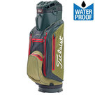 Titleist Stadry Lightweight Waterproof Cartbag, Zwart/Olijfgroen