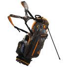 Big Max DriLite G Standbag Golftas, Zwart/Oranje