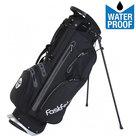 Fastfold 9 Inch Waterproof Standbag Golftas, Zwart