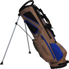 Fastfold UL 7.0 Standbag Golftas, Bruin/Blauw