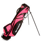Skymax 6.5 Inch Standbag Golftas, Zwart/Fuchsia