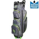 BagBoy C-302 Waterproof Cartbag Golftas, Grijs/Lime