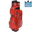 Big Max Aqua Silencio 2 Waterproof Cartbag Golftas, Rood