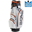 Big Max Aqua Sport 2 Waterproof Cartbag Golftas, Wit/Oranje