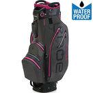 Big Max Aqua Sport 2 Waterproof Cartbag Golftas, Grijs/Fuchsia