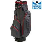 Big Max Aqua Sport 2 Waterproof Cartbag Golftas, Grijs/Rood