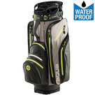 Big Max Aqua Tour Waterproof Cartbag Golftas, Zwart/Geel