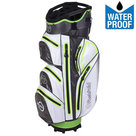 Fastfold WP360 Waterproof Cartbag Golftas, Wit/Grijs/Lime