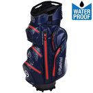 Fastfold WP360 Waterproof Cartbag Golftas, Navy/Rood