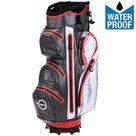 Fastfold WP360 Waterproof Cartbag Golftas, Grijs/Wit/Rood