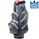 Fastfold Waterproof Cartbag Golftas, Grijs/Rood