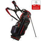 Big Max DriLite G Standbag Golftas, Zwart/Rood