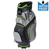 Fastfold C95 Waterproof Cartbag Golftas, Grijs/Lime