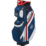 Wilson Staff EXO Cartbag Navy/Wit/Rood