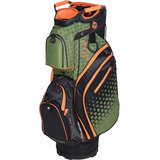 Fastfold Flash Cartbag Golftas Groen/Oranje
