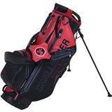 Fastfold Hybrid 2-in-1 Waterproof Standbag Zwart/Rood