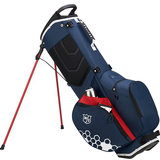 Wilson FT-Lite Standbag Navy/Rood