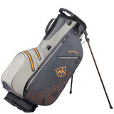 Wilson Staff DRY TECH II Carrybag Lichtgrijs/Oranje