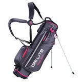 Big Max DriLite Seven 2.0 Waterproof standbag Antraciet/Fuchsia