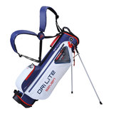 Big Max DriLite Seven 2.0 Waterproof standbag Wit/Blauw/Rood