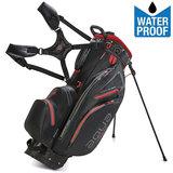 Big Max Aqua Hybrid Standbag Golftas, Zwart/Rood