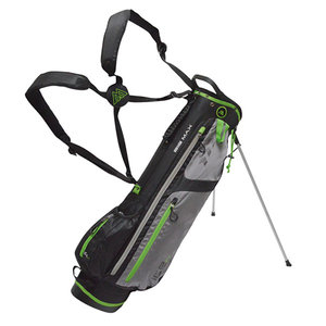 Big Max Ice 7.0 Standbag Golftas, Zwart/Lime