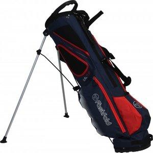 Fastfold UL 7.0 Standbag Golftas, Navy/Rood